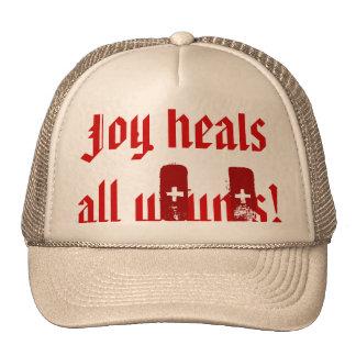 Joy heals all trucker hat