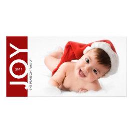 JOY Holiday 1 Photo Card