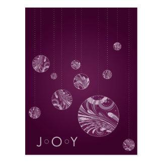 JOY Holiday Card Postcards