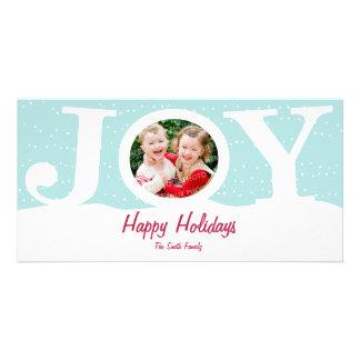 Joy Holiday Photo Card