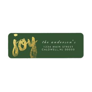 Joy   Holidays Label