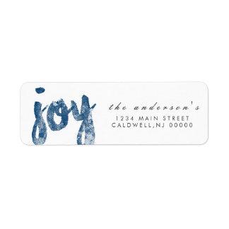 Joy | Holidays Label