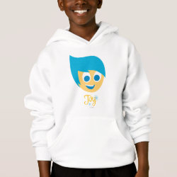 Girls' American Apparel Fine Jersey T-Shirt with Cute Cartoon Joy from Inside Out design