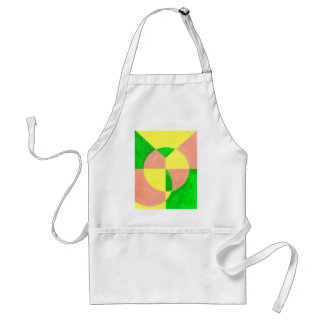 JOY in abstract art Adult Apron