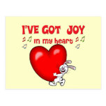 Joy in My Heart Postcard