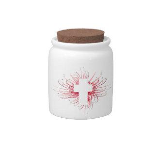 JOY! in the Cross Candy Jars