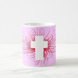 JOY! in the Cross Coffee Mugs