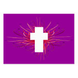 JOY! in the Cross Tract Card / Business Card Template