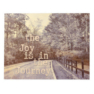 Joy in the Journey Notepad