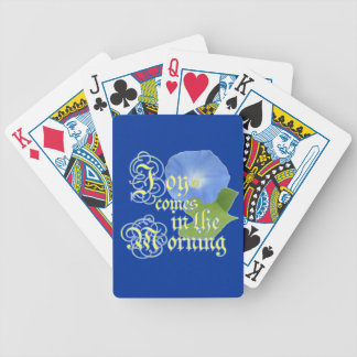 Joy in the Morning Bicycle Playing Cards
