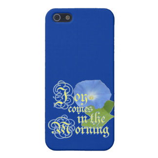 Joy in the Morning iPhone 5/5S Cases
