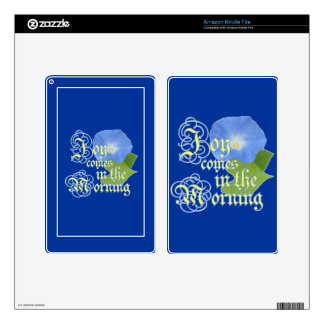 Joy in the Morning Kindle Fire Skin