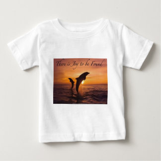 joy in the world of dolphins baby T-Shirt