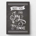 Joy in this Home Texas Style - Chalkboard Plaque