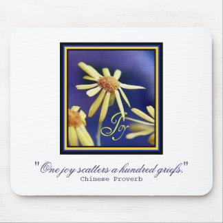 Joy Inspiration Mouse Pad