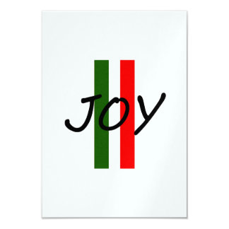 Joy 3.5x5 Paper Invitation Card