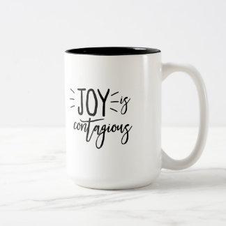 Joy Is Contagious Coffee Mug
