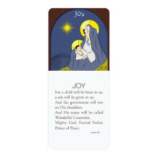 Joy, Isaiah 9v6 Card