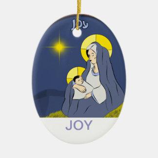 Joy, Isaiah 9v6 Ceramic Ornament