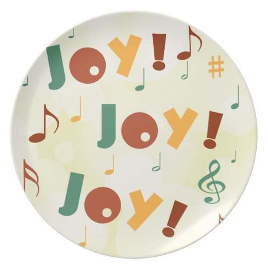 Joy! Joy! Joy! Plate