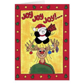 Joy, Joy, Joy to the World Card
