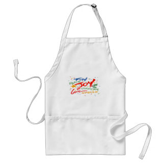 Joy, Laughter, and Smile Apron