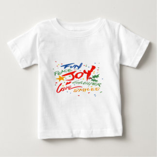 Joy, Laughter, and Smile Baby T-Shirt
