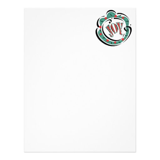 Joy Letterhead Template