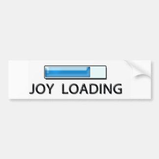 joy loading bumper sticker