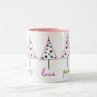 Joy, Love, Peace Coffee Mug