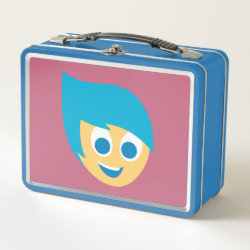 Metal Lunch Box with Cute Cartoon Joy from Inside Out design