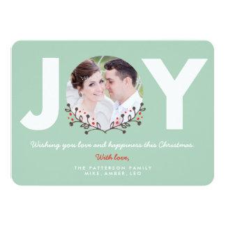 JOY Mint | Holiday Photo Card