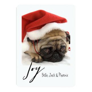 Joy Modern Pet Holiday Card