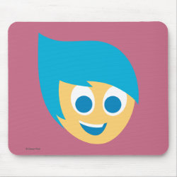 Mousepad with Cute Cartoon Joy from Inside Out design