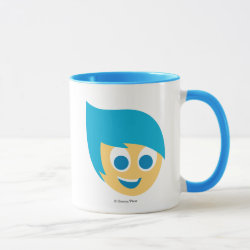 Combo Mug with Cute Cartoon Joy from Inside Out design