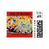 Joy of Autism Postage