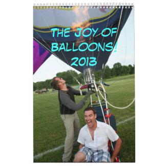 Joy of Balloons 2013 Calendar