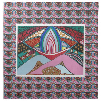 JOY  OF BEING TOGETHER : Artistic Romantic Sensual Napkin