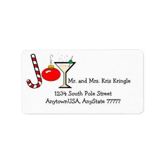Joy Of Christmas Custom Address Label