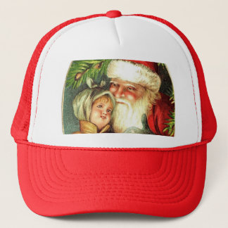 Joy of Christmas with Santa Trucker Hat