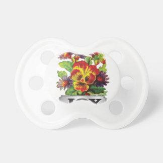 joy of flowers pacifier