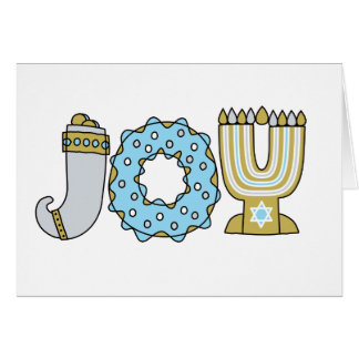 JOY of Hanukkah (Standard) Card