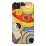 Joy of Life - Vintage Art by Robert Delaunay Case-Mate iPhone 4 Cases