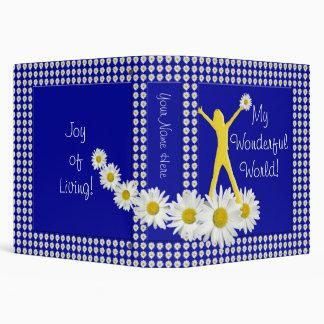 Joy of Living Daisies 1.5 inch Binder