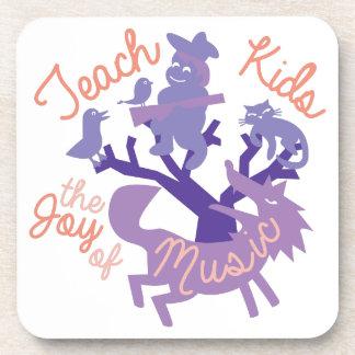 Joy Of Music Beverage Coaster