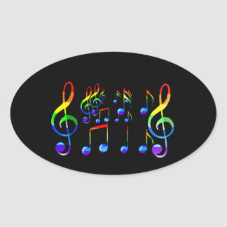 Joy Of Music Lives_ Oval Sticker