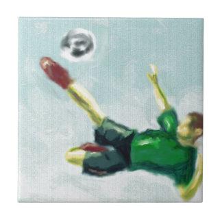Joy of Soccer Art Tile