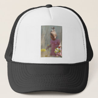 joy of spring trucker hat