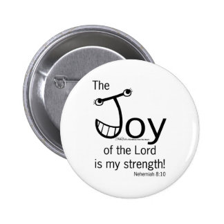 JOY of the Lord Pinback Buttons