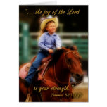 Joy of the Lord Encouragement Greeting Card